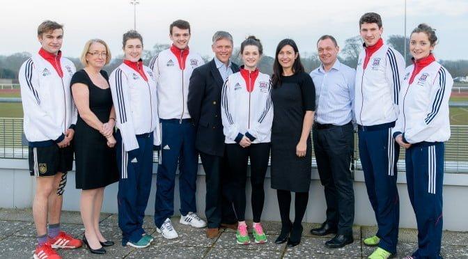 Pentathlon GB athletes and MD Staff
